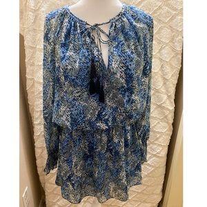 NWT Ramy Brook Printed Brin Dress Size Medium